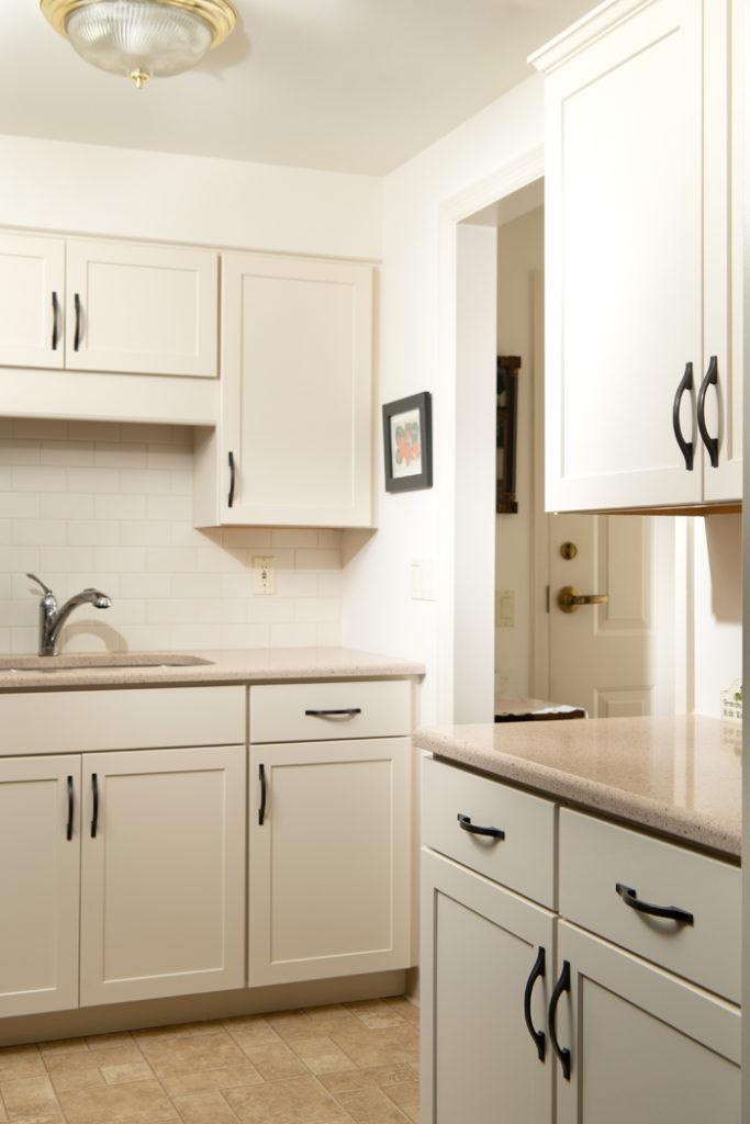 corner of kitchen area