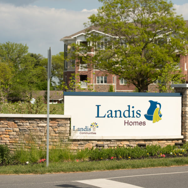 Landis Homes sign